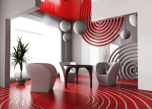 现代风格时尚创意办公室休息室装修效果图赏析