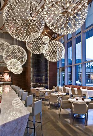 110平米简欧风格精致西餐厅设计装修效果图赏析