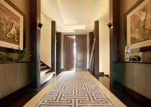 新古典主义风格别墅过道设计装修效果图赏析