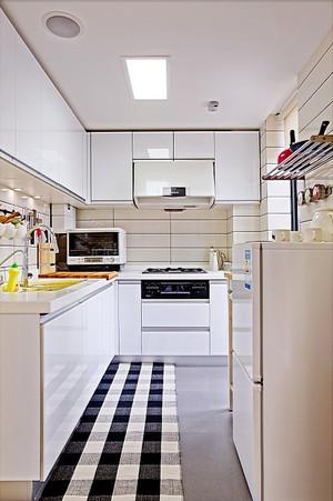 12平米现代简约风格整体厨房装修效果图赏析