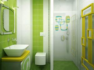都市清新风格小户型卫生间装修效果图赏析