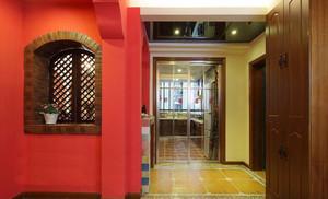 139平米美式混搭风格小复式楼装修效果图赏析