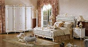 欧式风格浪漫精美卧室装修效果图赏析