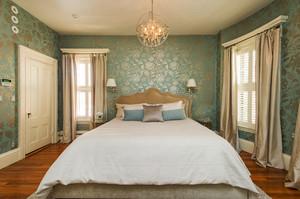 简欧风格大户型室内卧室墙纸设计装修效果图赏析