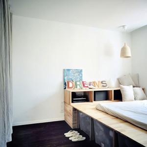 46平米宜家风格精致单身公寓装修效果图赏析