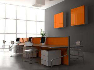 现代简约风格办公室装修设计实景图赏析