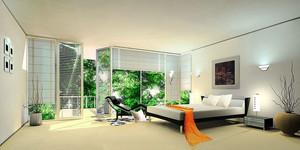 80平米现代风格商务酒店客房设计装修效果图