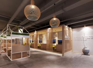 100平米乡村风格中餐厅设计装修效果图赏析
