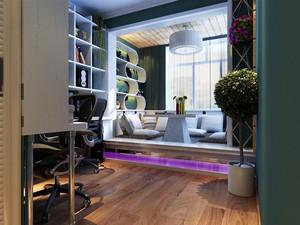 42平米现代简约风格单身公寓设计装修效果图赏析