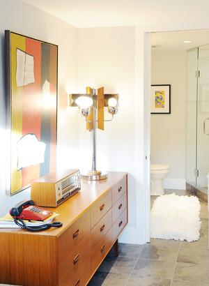 后现代风格大户型室内卫生间浴室柜装修效果图赏析
