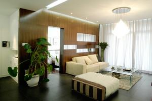 122平米现代风格精致两室两厅室内装修效果图案例