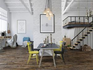 88平米北欧风格loft装修效果图赏析