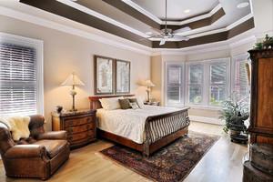 美式风格别墅室内卧室装修效果图赏析