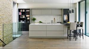 现代风格精致开放式厨房装修效果图大全赏析