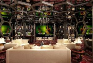 时尚复古风格酒吧装修效果图赏析