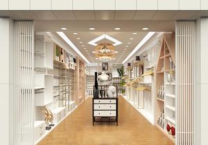 75平米欧式风格内衣店设计装修效果图赏析