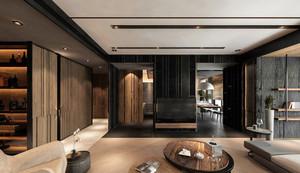 130平米后现代风格大户型室内装修效果图实例