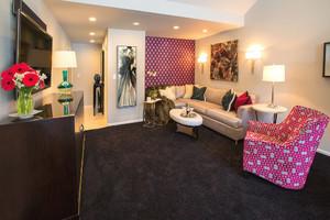 现代简约风格小户型客厅装修效果图鉴赏