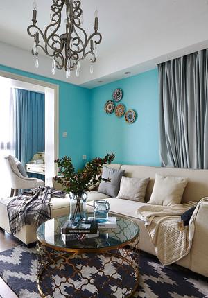 279平米清新美式风格别墅室内装修效果图赏析