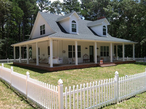 400平米美式风格独栋别墅外观设计装修效果图