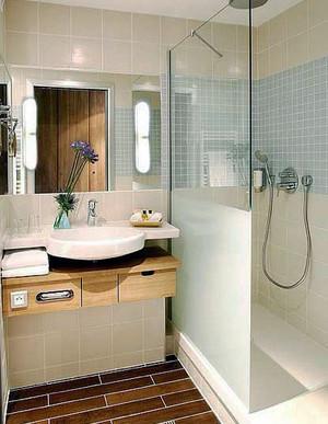 日式风格自然小卫生间设计装修效果图大全赏析