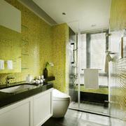 现代简约风格大户型卫生间瓷砖装修效果图赏析