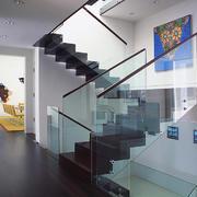 现代风格复式楼楼梯设计装修效果图鉴赏