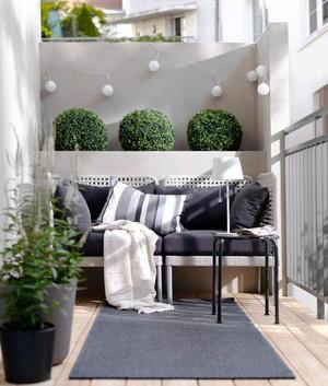 现代风格唯美精致阳台设计装修效果图