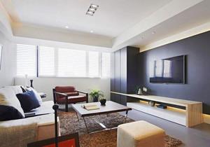 85平米宜家风格轻松自然两室两厅室内装修效果图