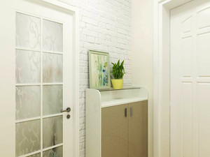 98平米北欧风格三室两厅室内装修效果图赏析