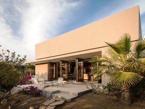 现代风格两层别墅外观设计装修效果图