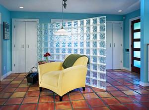 清新美式风格室内玻璃隔断设计装修效果图赏析