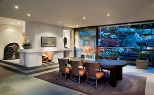 现代风格别墅室内餐厅设计装修效果图赏析