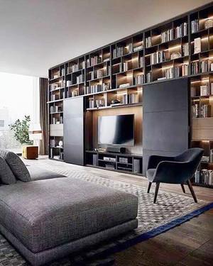 现代风格创意客厅电视背景墙装修效果图大全