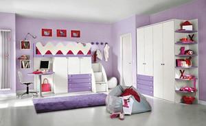 现代简约风格儿童房装修效果图模板大全