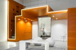 50平米现代简约风格loft装修效果图赏析