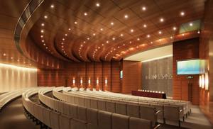 160平米现代风格会议室装修效果图赏析