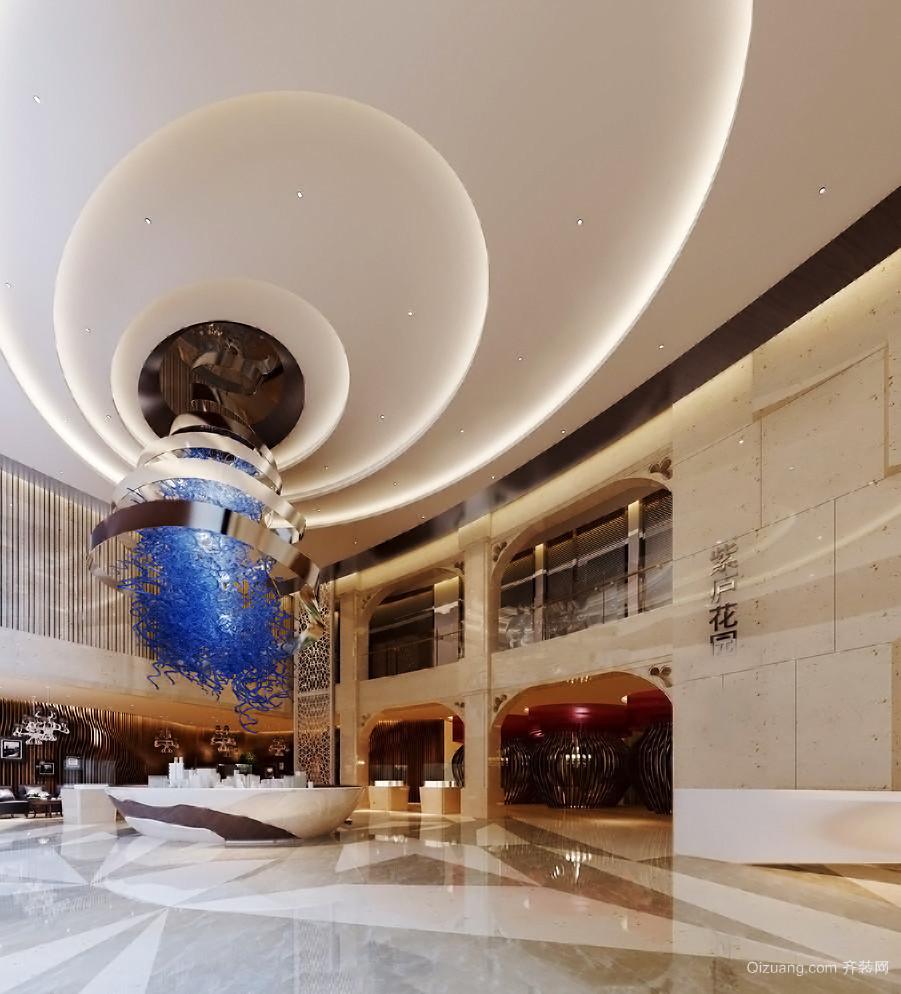 100平米现代风格创意书店设计装修效果图