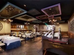复古欧式风格咖啡厅装修效果图赏析