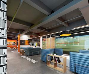 现代简约风格办公室休息室装修效果图赏析