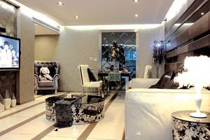 75平米简欧风格精致华丽小户型室内装修案例