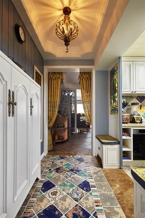 150平米地中海混搭风格三室两厅室内装修效果图案例