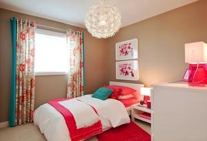 10平米简欧风格温馨儿童房装修实景图