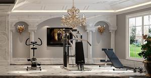 460平米法式风格奢华典雅别墅装修效果图赏析