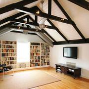 美式风格别墅阁楼吊顶装修效果图赏析