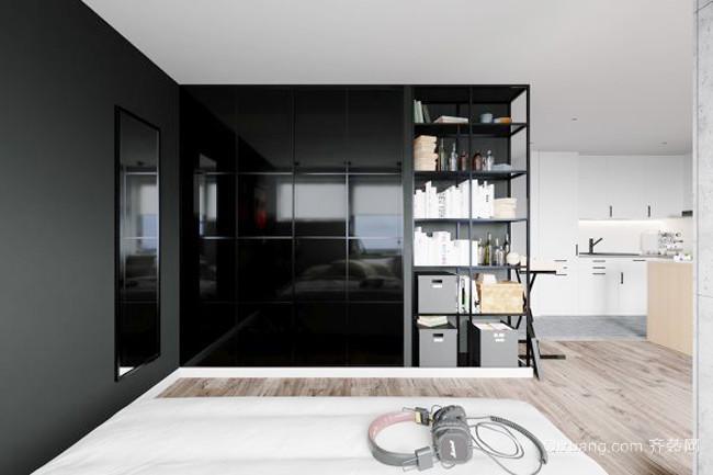 65平米后现代风格小户型室内装修效果图赏析