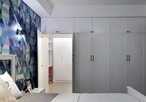 简欧风格轻松卧室衣柜设计装修效果图赏析