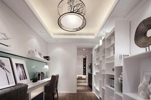 12平米现代简约风格书房装修效果图赏析