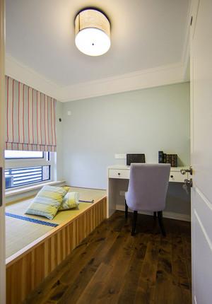 115平米现代美式风格三室两厅室内装修效果图赏析
