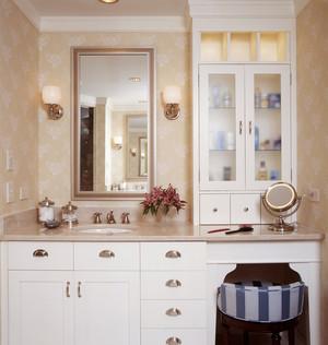 欧式风格精致典雅卫生间浴室柜装修效果图赏析
